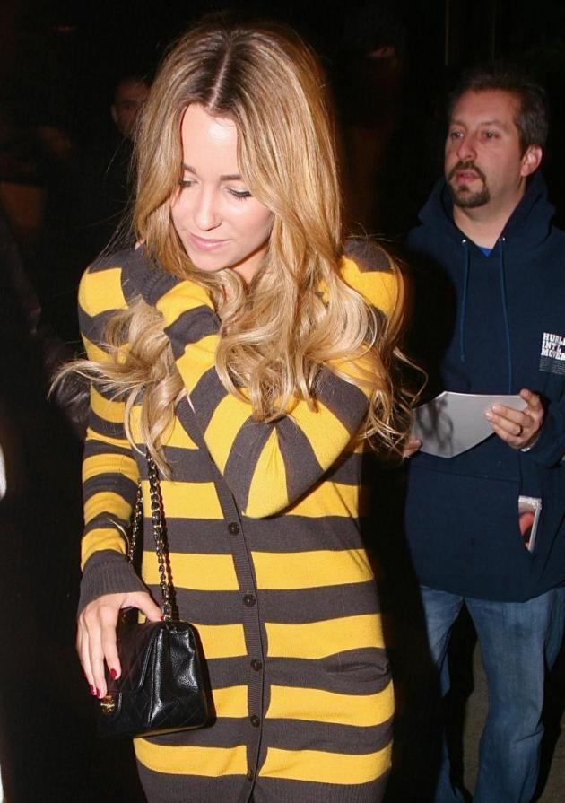 LC Showing Her Stripes