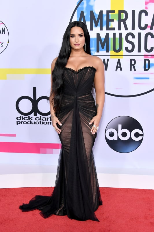 Demi lovato at 2017 amas