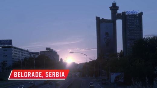 Belgrade, Serbia (Amira Lollysa arrives safely)