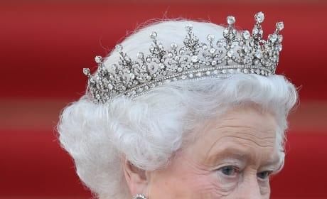 Queen Elizabeth in Action