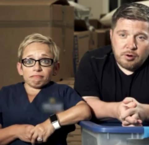 Dr. Jen Arnold and Bill Klein for Houston Relief