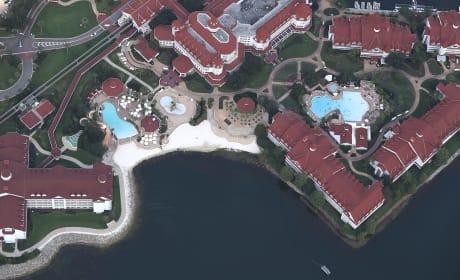 Aerial Shot of Disney's Grand Floridian Resort