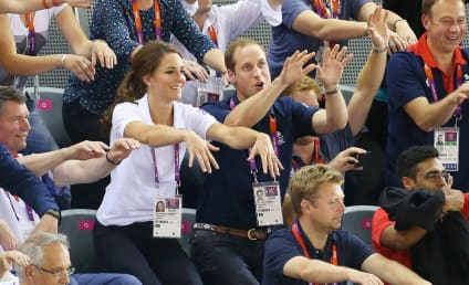 THG Caption Contest: Royal Olympic Wave!