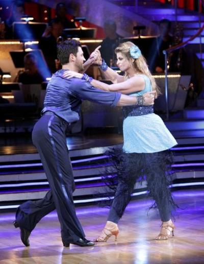 Kirstie and Maks Get a 10!