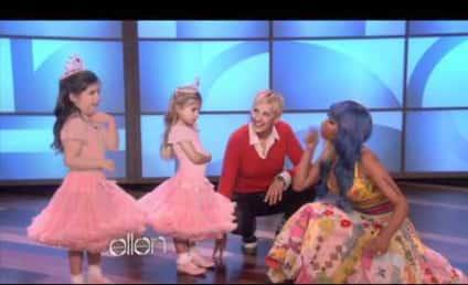 Nicki Minaj Shocks Super Bass Super Fan on Ellen