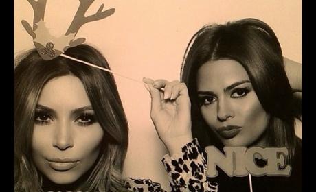 Naughty Kim Kardashian