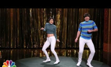 Jennifer Lopez and Jimmy Fallon Keep It Tight on The Tonight Show