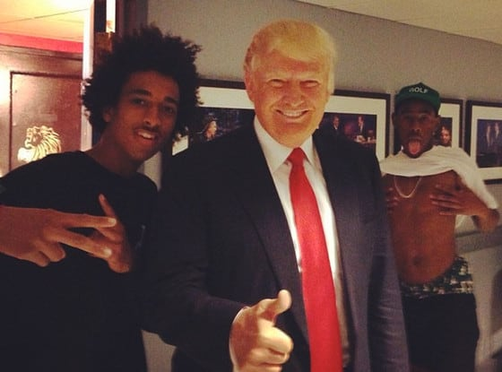 Donald Trump Photo Bomb