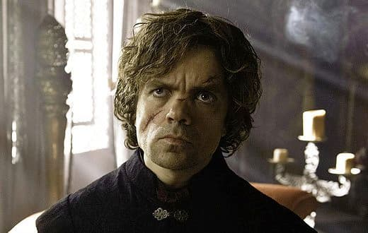 Peter Dinklage on Game of Thrones