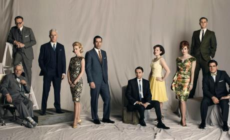 Mad Men Cast Photo
