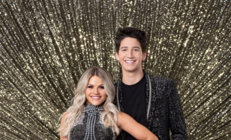 Milo Manheim and Witney Carson