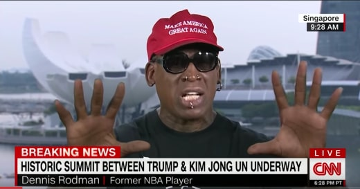 Dennis Rodman on CNN