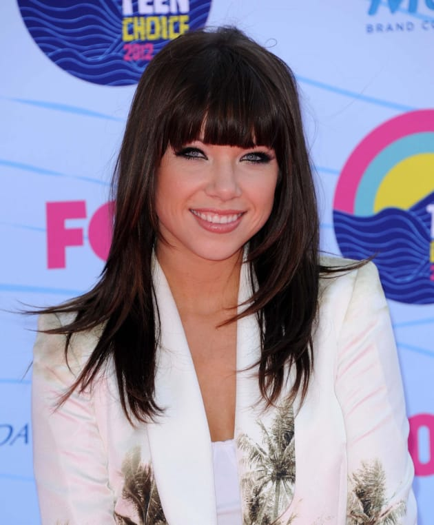 Carly Rae Jepsen at Teen Choice Awards
