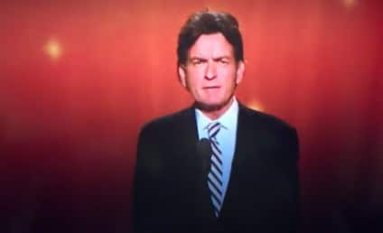Charlie Sheen Presents at Emmy Awards, Wishes Best to Two and a Half Men