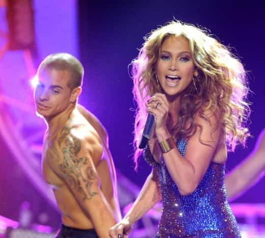 Jennifer Lopez, Boyfriend on Stage