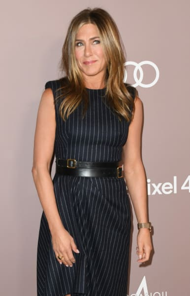 Jennifer Aniston con una sonrisa