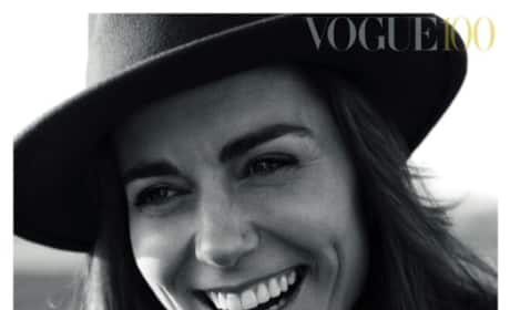 Kate Middleton Covers British Vogue