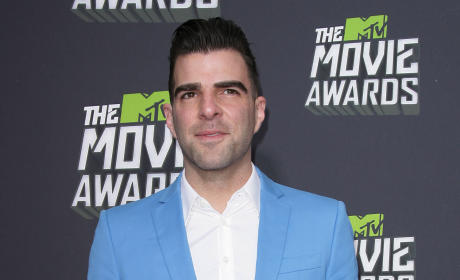 Zachary Quinto at MTV Movie Awards
