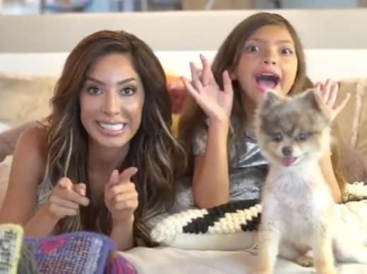 Farrah, Sophia, and Blue