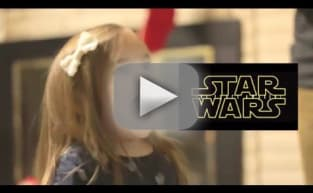Cutest Star Wars Fan in Galaxy Reacts in Delight to Force Awakens Trailer