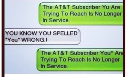 Breakup Text FAIL Proves Importance of Spell-Check, Makes Us LOL