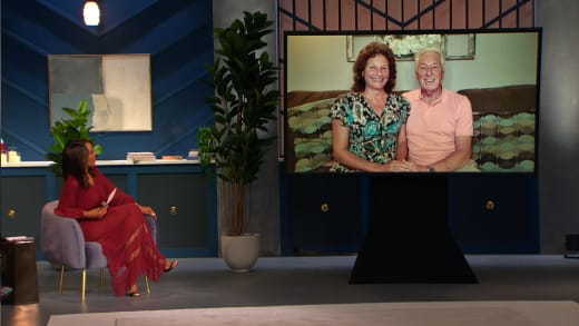 Betty Gibbs and Ron Gibbs tune in to Tell All, threaten to buy house next door