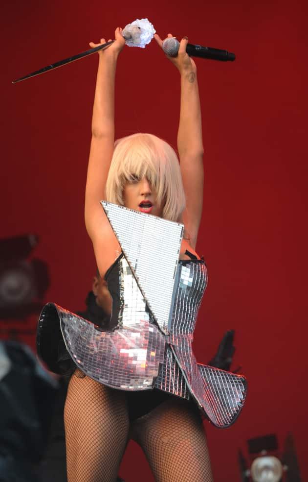 Lady GaGa Crotch Shot