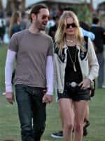 Kate Bosworth and Michael Polish at Coachella