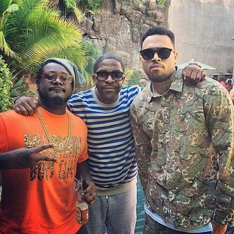 Chris Brown Welcome Home Party Pic