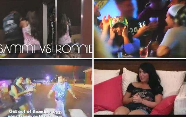 Ronnie sammi fight on jersey shore