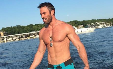 Chad Johnson Shirtless