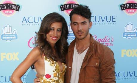 Danielle and Kevin Jonas Photo
