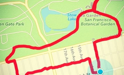 Woman Maps Her Run Into Creative Shapes, Including a Penis
