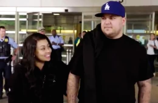 Blac Chyna and Rob Kardashian on Rob &amp Chyna