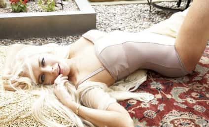 Lindsay Lohan in Vanity Fair Italy: The Sultry House Arrest Photo Shoot