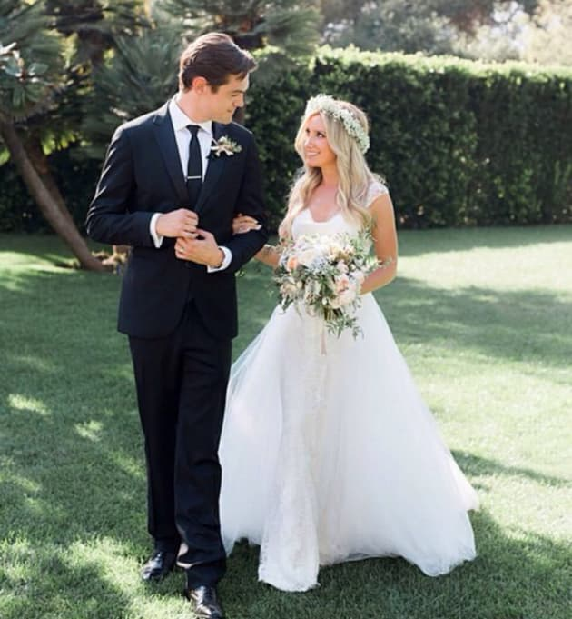 Ashley Tisdale's Wedding Photo