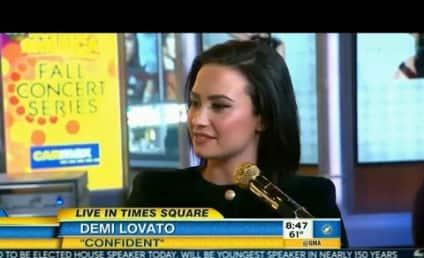 "Demi Lovato Expresses ""Confidence"" on Good Morning America"