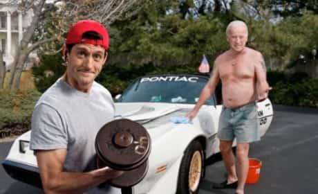 Paul Ryan and Joe Biden