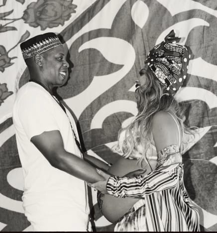 Beyonce and Jay Z Party It Up