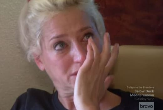 Dorinda Medley Cries