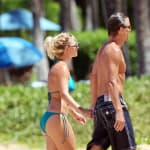 Britney and Jason Stroll