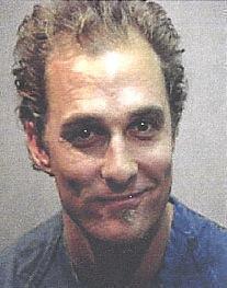 Matthew McConaughey mug shot