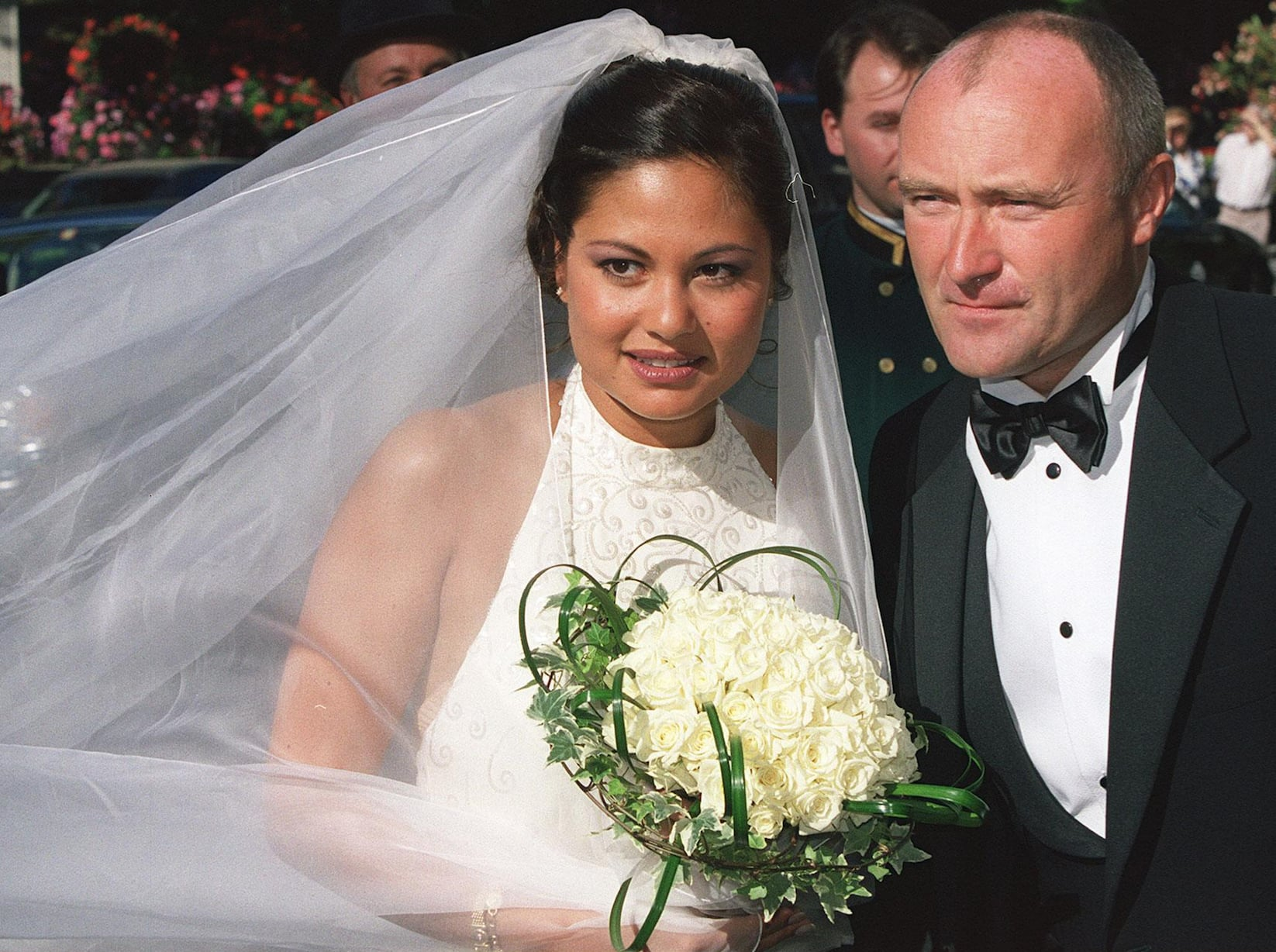 Phil Collins To Re Marry Third Ex Wife Orianne Cevey The Hollywood Gossip Collins has been walking with the aid of a stick since his fall last year (picture: re marry third ex wife orianne cevey