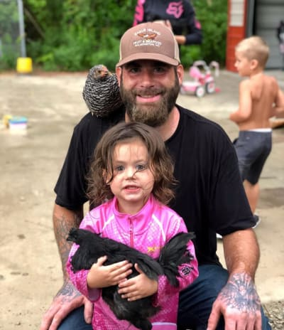 David, Ensley, a Chicken