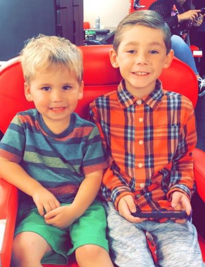 Jenelle Evans' Sons