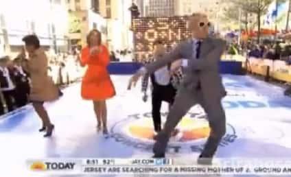 """Matt Lauer, PSY Do """"Gentleman"""" Dance; Today Viewers Uncomfortable"""