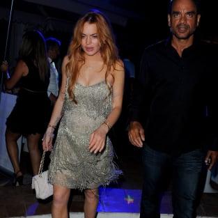 Lindsay Lohan: Drunk in Italy