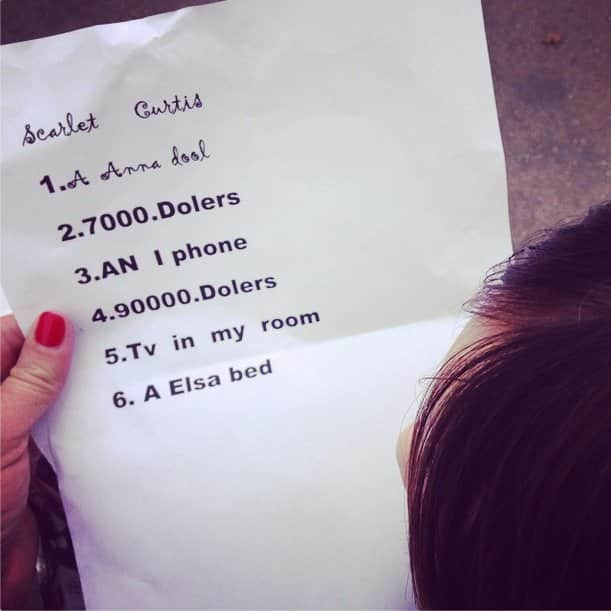 13 kids who asked for the perfect gift s from santa claus money talks