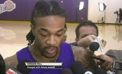 Jordan Hill Charged with Assault, Vows to Play On