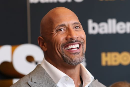 Dwayne Johnson at Ballers Premiere